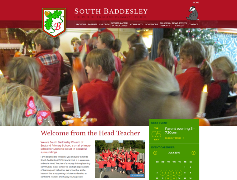 School Website Redesign Case Study